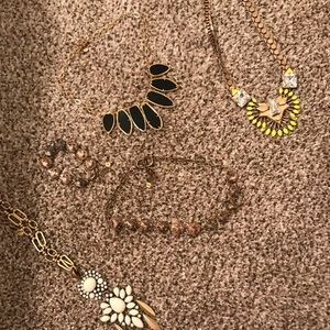 Stella Dot ALL necklaces and bracelets included
